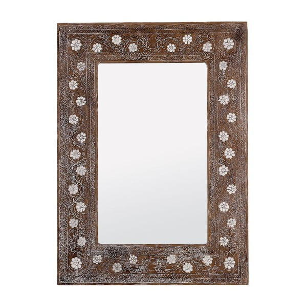 Zrcadlo Flower, 80x110 cm