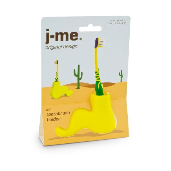 Žlutý stojánek na kartáček J-Me Sid