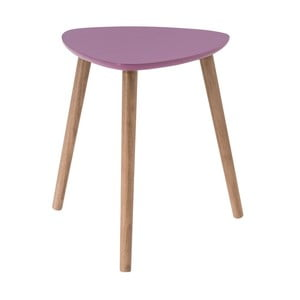 Růžový odkládací stolek Nomad