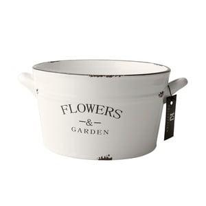 Keramický květináč Flowers, 28 cm