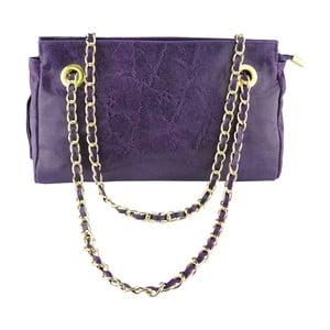 Kožená kabelka Ornella Purple