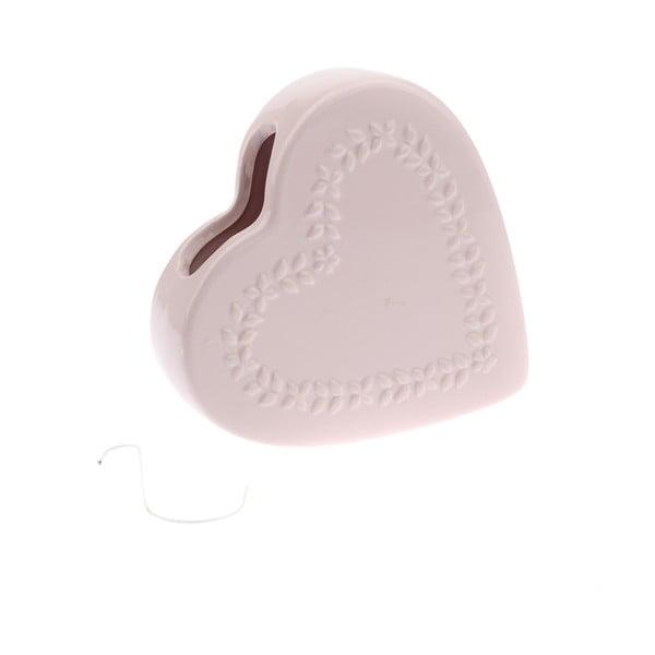 Heart rózsaszín kerámia párásító - Dakls