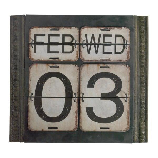 Zelený nástěnný kalendář Geese Time