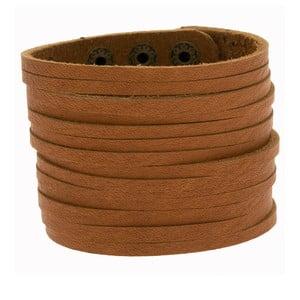 Náramek Wide Leather Strip