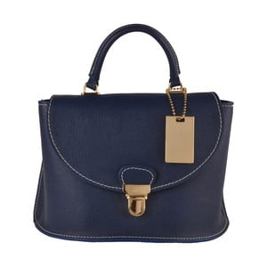Modrá kožená kabelka Matilde Costa Olivos