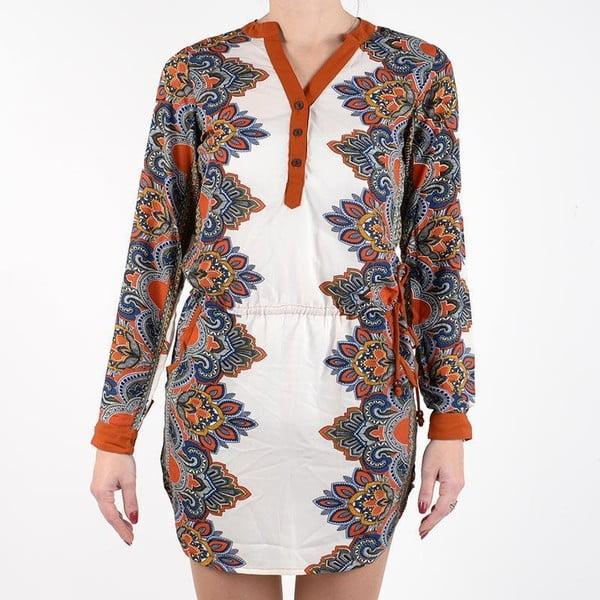 Plážové šaty Shirt Brown, vel. XL