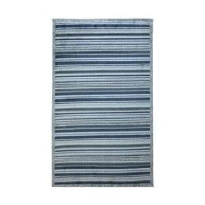 Modrošedý koberec Webtappeti Lines, 137x200cm