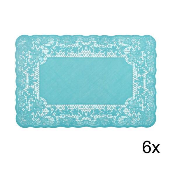 Set prostírání Marletto Azzurro, 6 ks