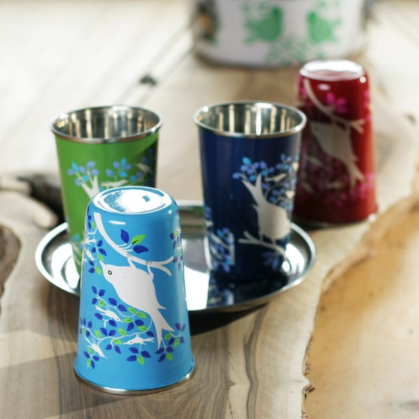 Hrnek Eva Hand Painted Cup, tmavě modrý