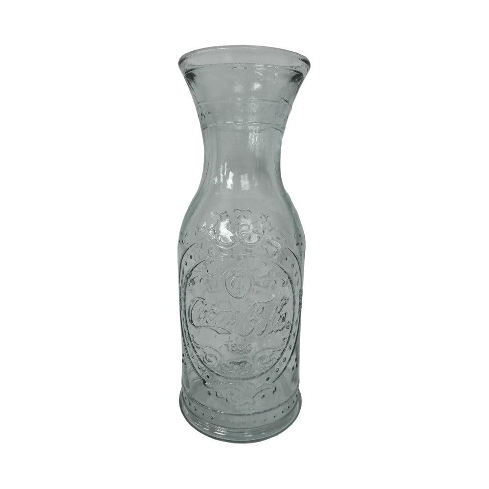 Skleněná váza/karafa z recyklovaného skla Ego Dekor, 1 l