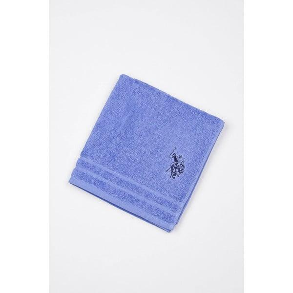 Modrá koupelnová předložka U.S. Polo Assn., 60x90cm