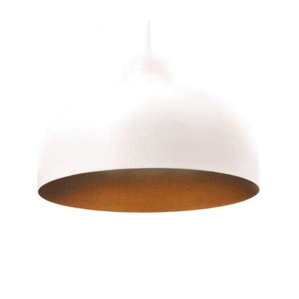 Bílo-zlaté stropní světlo Loft You B&B, 33 cm