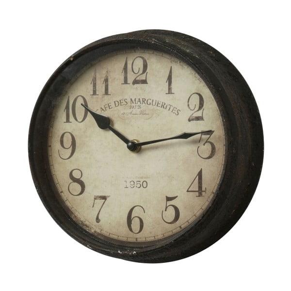 Kovové hodiny, 23 cm