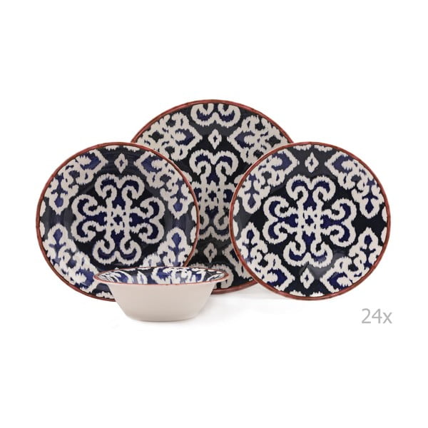 Putio 24 db-os porcelán étkészlet - Kutahya