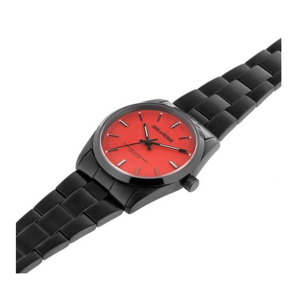 Dámské hodinky s červeným ciferníkem Zadig & Voltaire Party Girl