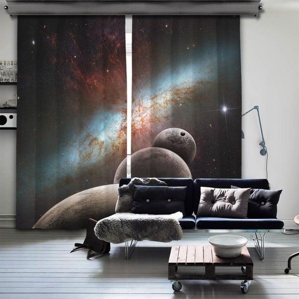 Set 2 draperii Curtain Kesso, 140 x 260 cm