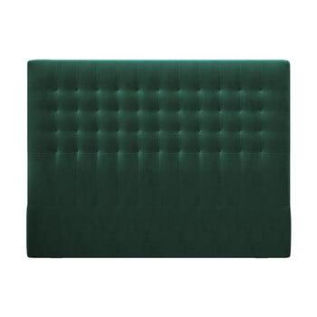 Tăblie pentru pat cu tapițerie de catifea Windsor & Co Sofas Apollo, 180x120cm, verde imagine