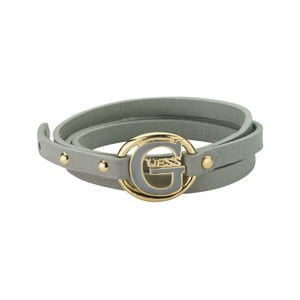 Náramek Guess Grey Buckle