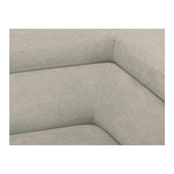 Béžová rozkládací rohová pohovka Windsor & Co Sofas Gamma, pravý roh