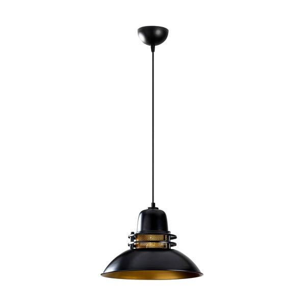 Lustră Opviq lights Berceste, ø 34 cm, negru