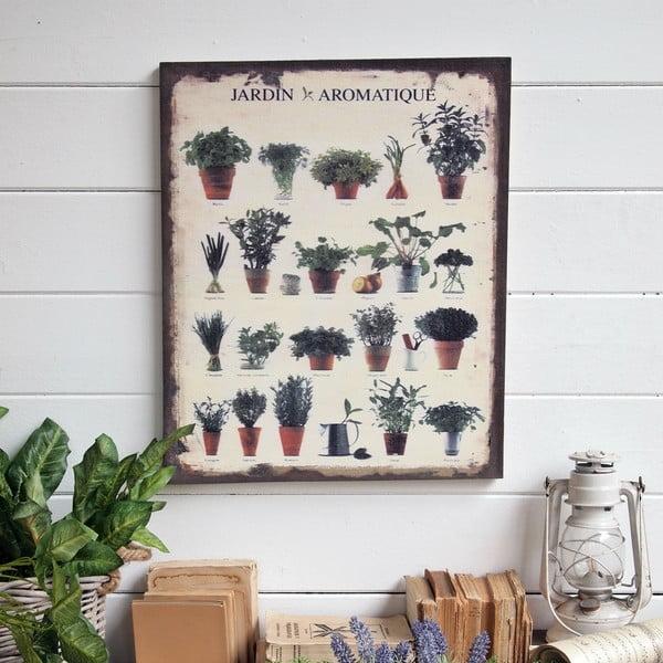 Nástěnná dekorace Herbs