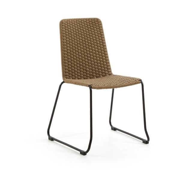 Set 4 scaune La Forma Meggie, bej