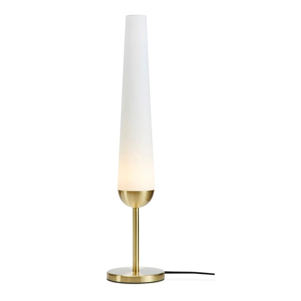 Stolní lampa s podstavcem v měděné barvě Markslöjd Bern 1L
