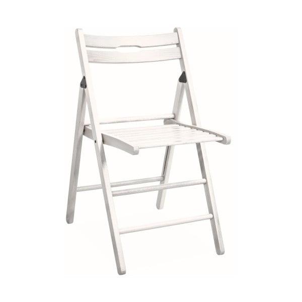 Skládací židle Smart, bílá