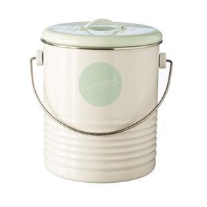 Bílý kuchyňský kompostér Typhoon Vintage Americana