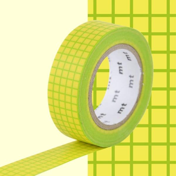 Bandă decorativă Washi MT Masking Tape Rosalie, rolă 10 m