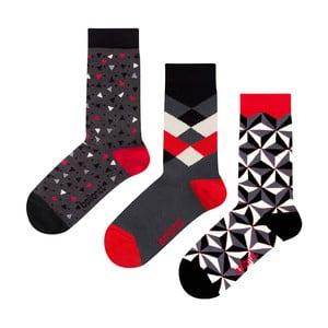 Dárková sada ponožek Ballonet Socks Abstract, velikost 41-46
