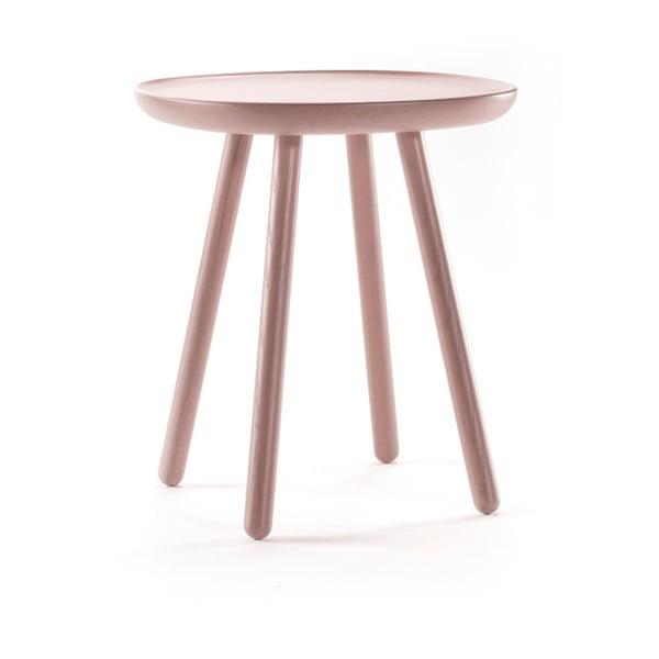 Dřevěný odkládací stolek EMKO Naïve, ⌀45 cm