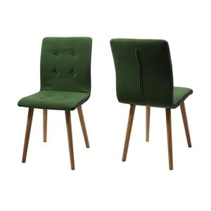 Set 2 scaune Actona Frida, verde