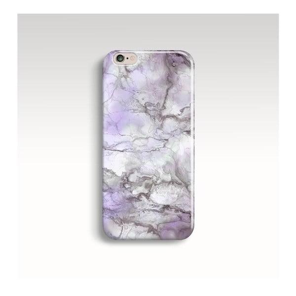 Obal na telefon Marble Lilac pro iPhone 6+/6S+