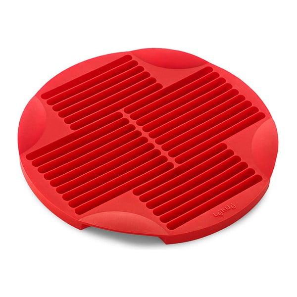 Červená silikonová forma na tyčinky Lékué Sticks, ⌀ 25 cm