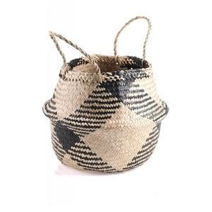 Úložný košík z mořské trávy Slowdeco Ocean, vel. L