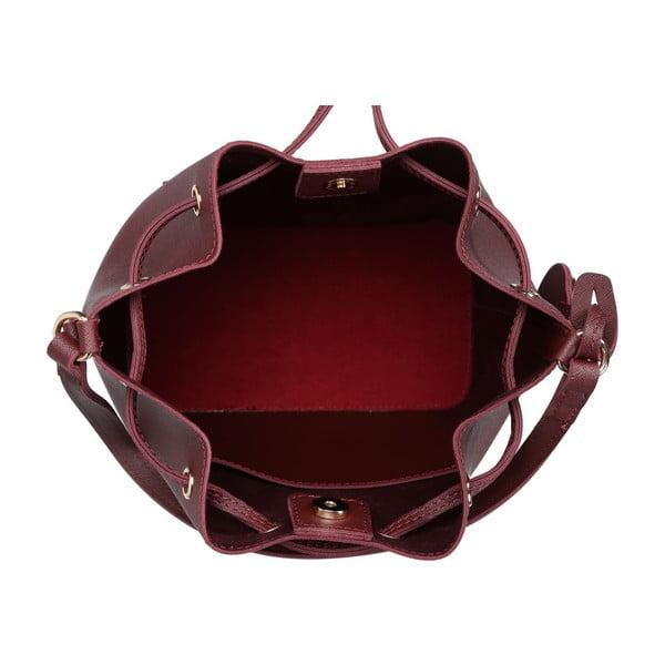 Tmavě červená kabelka Beverly Hills Polo Club Sophia