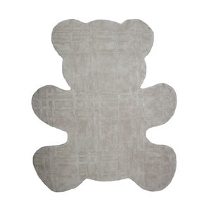 Dětský koberec Teddy Taupe, 100x120 cm