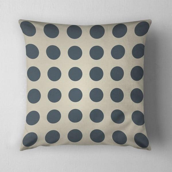 Polštář Big Grey Dots, 43x43 cm