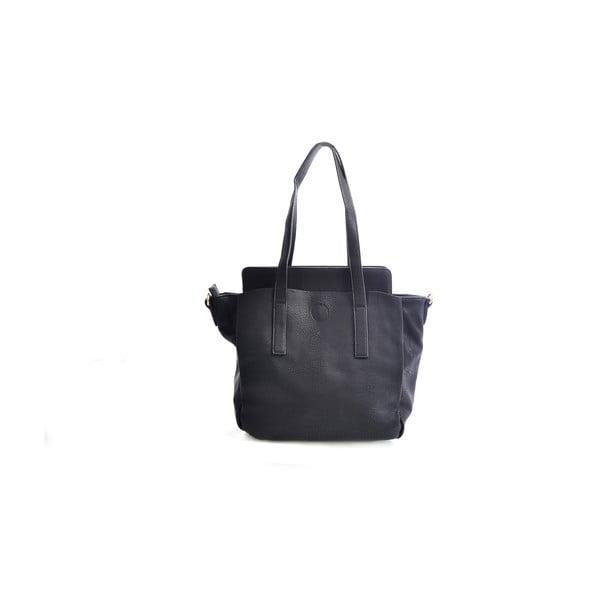 Kožená kabelka Giorgia, černá
