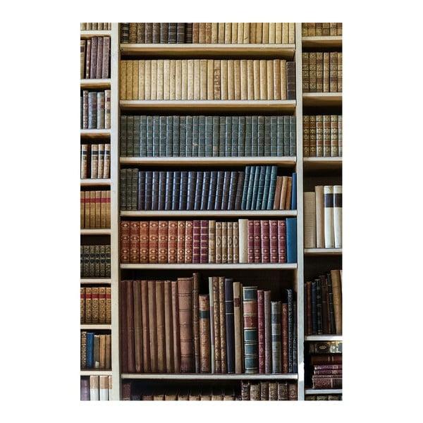 Vinylový koberec Bookcase, 52x75 cm