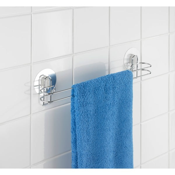 Samodržící věšák na ručníky Wenko Static-Loc,45cm