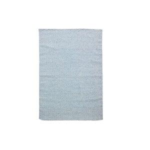 Ručně tkaný modrý koberec Kilim Barfi, 100x150cm