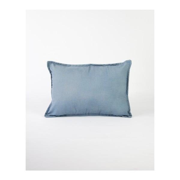 Jasnoniebieska poszewka na poduszkę z domieszką lnu Surdic, 50x35 cm