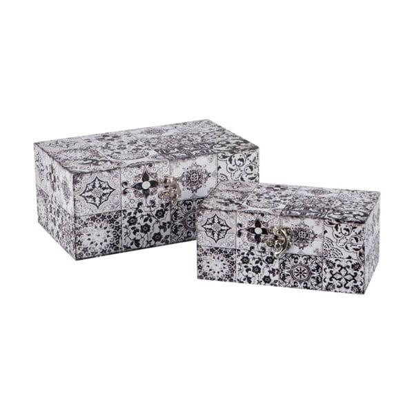 Sada 2 ukládacích boxů Oriental