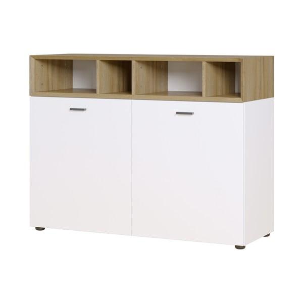 Bílá skříňka na oblečení Germania Coruna