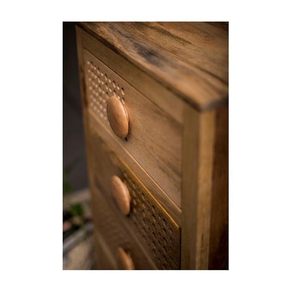 Komoda z mangového dřeva s 5 zásuvkami Støraa Downey