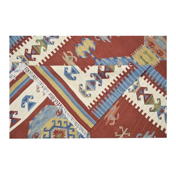 Vlněný koberec Kilim Classic AK06 Mix, 75x125 cm