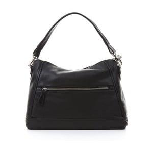 Černá kožená kabelka Gianni Conti Justina