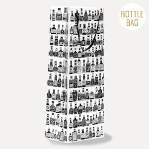 Dárková taška na lahev U Studio Design Bottles, 13,5 x 36,5 cm